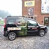 lutin - kangoo - Het wagenpark in full-color plaatsen onafhankelijk van het model of de kleur.
