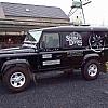 Scuba diving - Een wagen die zich gemakkelijk laat inpakken voor een mooie reclame met vaste kleuren.