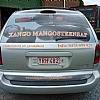 mangosteensap - Veel mensen zijn bang om hun wagen definitief te beschadigen. De achterruit brengt in dit geval een mooie oplossing om uw wagen toch te voorzien van publictiteit. In dit geval one-way clear vision die zorgt voor zicht naar buiten, maar niet omgekeerd.