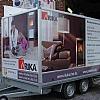 rika - remorque - Een op maat gebouwde aanhangwagen. Volledig voorzien van full-color materiaal rondom.